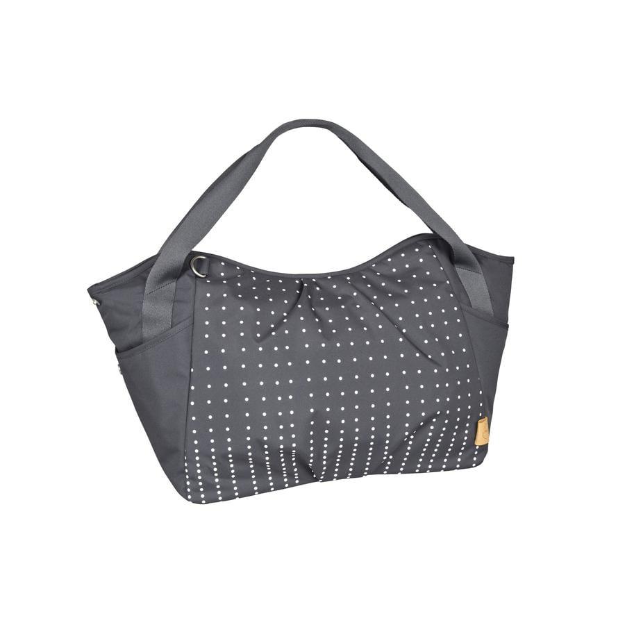 LÄSSIG Přebalovací taška Casual Twin Bag Dotted lines ebony