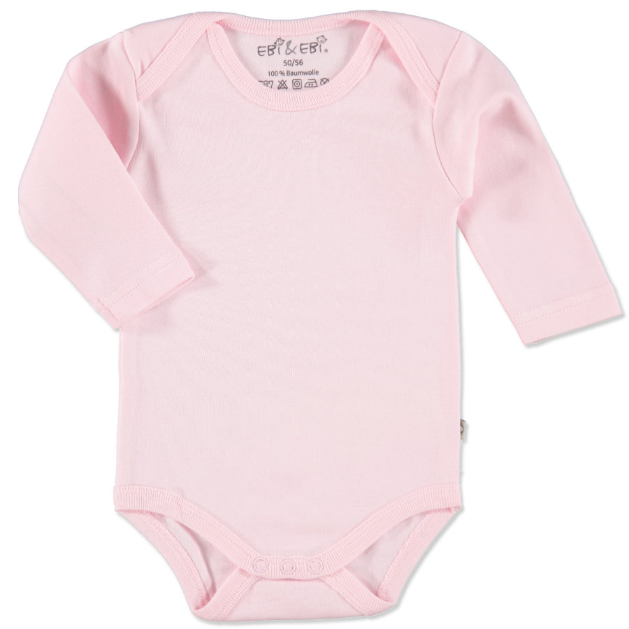 EBI & EBI Fairtrade Body langarm rosa