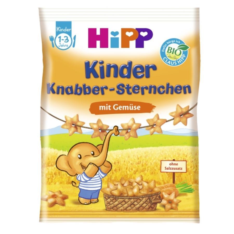 HiPP Knabber Sternchen mit Gemüse 30 g