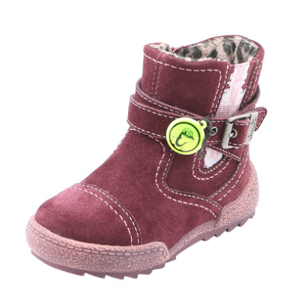 Lurchi Girls Stiefel Lino-Tex wine