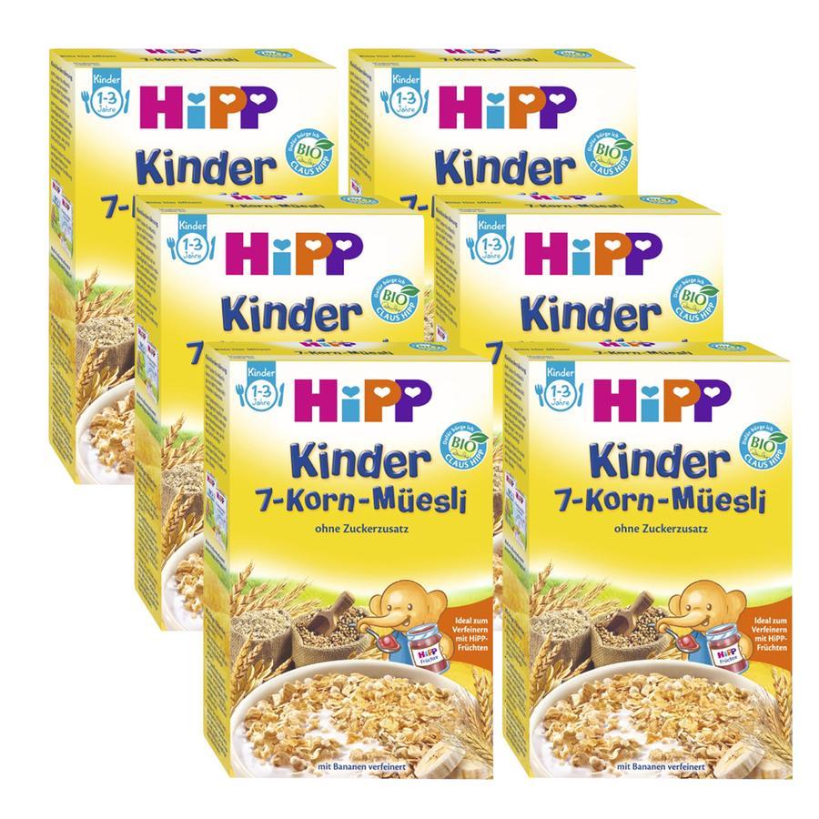 HiPP Kinder 7-Korn Müsli 6 x 200g