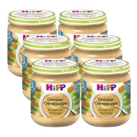 HiPP Gemüse-Cremesuppe 6 x 200g