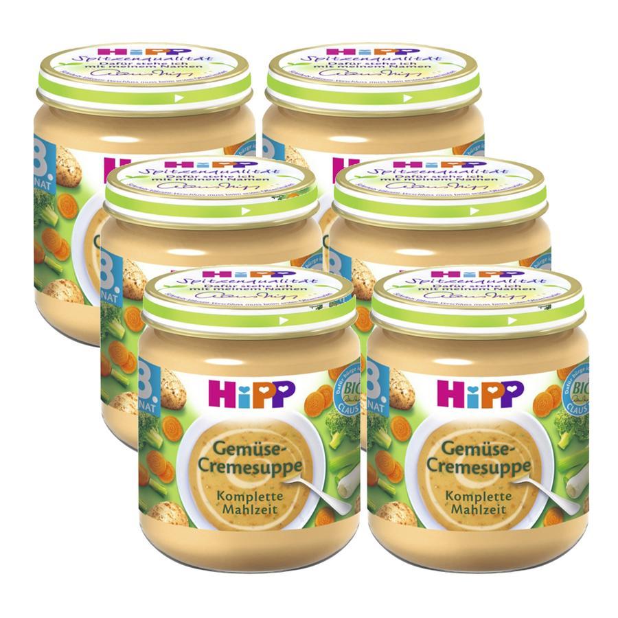 HiPP Gemüse-Cremesuppe 6 x 200 g