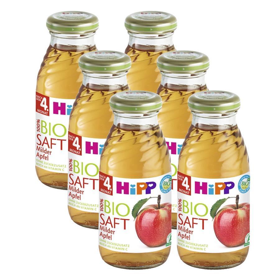 HiPP Milder Apfel 6 x 0,2 l