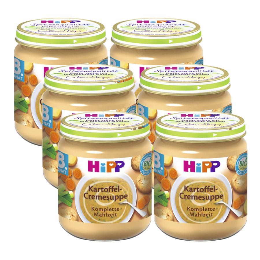 HiPP Kartoffel-Cremesuppe 6 x 200 g