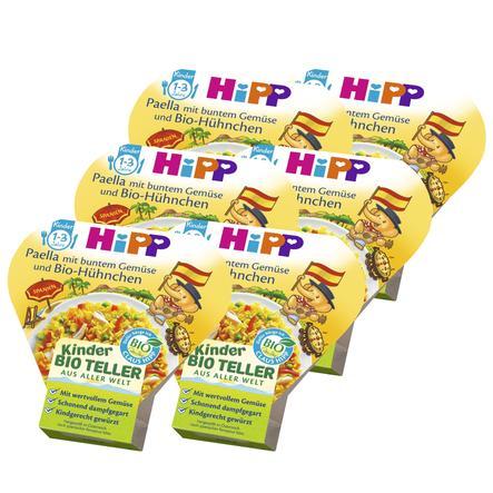 HiPP Paella mit buntem Gemüse und Bio-Hühnchen 6 x 250 g