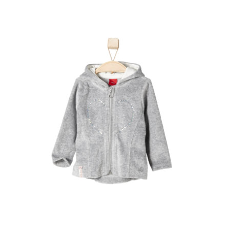 s.OLIVER Girls Mini Nicki Jacke grey melange