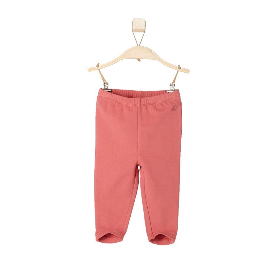 s. Oliver tyttöjen Mini Leggings punainen