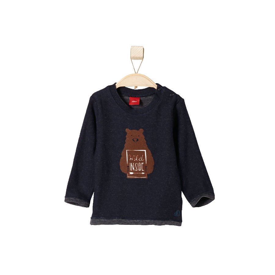 s.OLIVER Boys Mini Longsleeve dark blue melange
