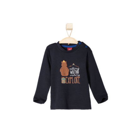 s.OLIVER Boys Mini Longsleeve dark blue