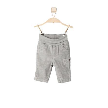 s.OLIVER Boys Pantalón de pana de bebé gris mélange