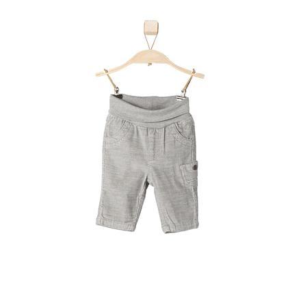 s.OLIVER Boys Pantalon en velours côtelé bébé gris mélangé