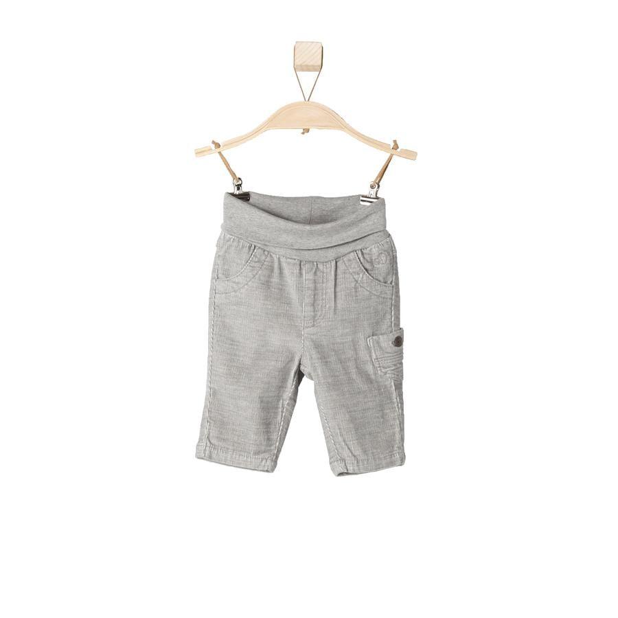 s.OLIVER Boys Baby Cordhose grey melange