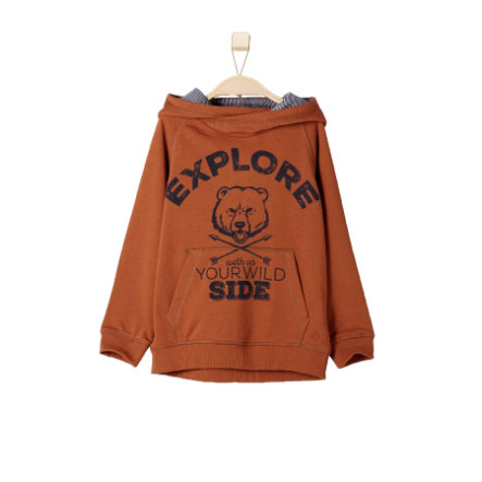 s.OLIVER Boys Mini Sweatshirt cognac