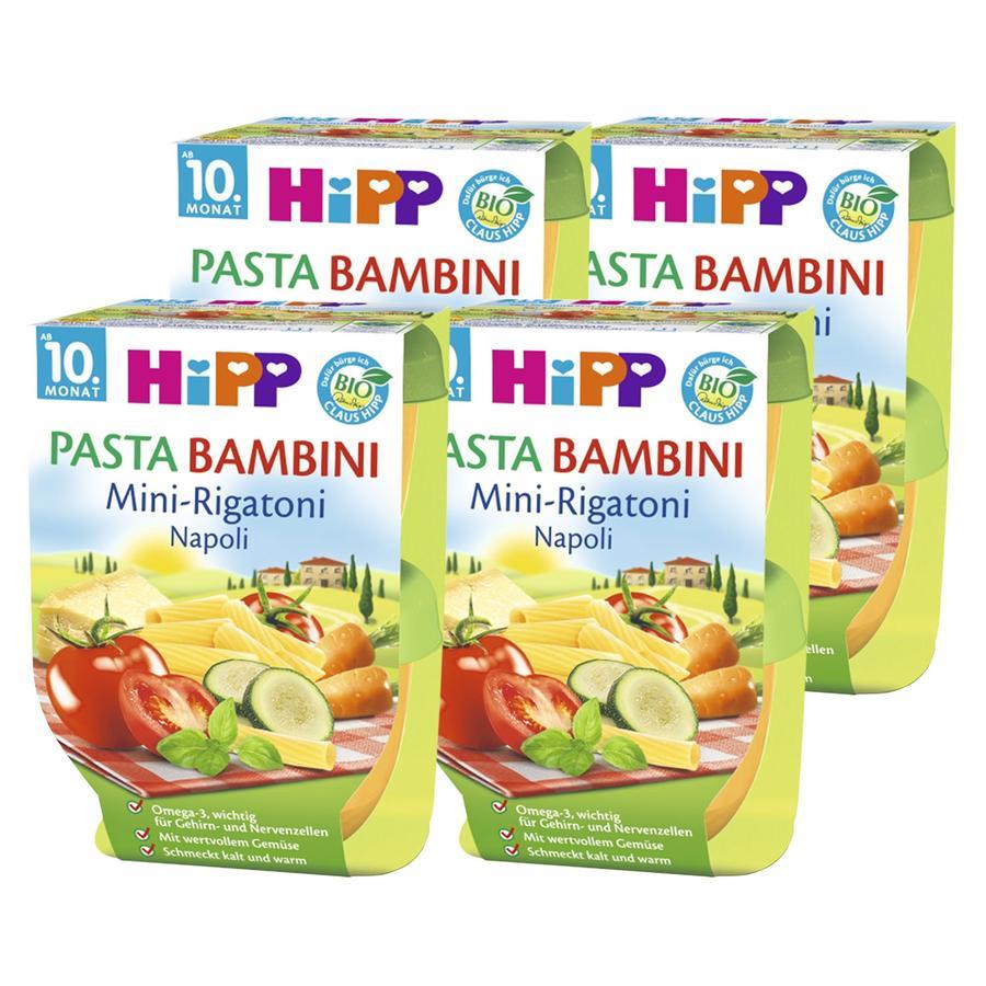 HiPP Pasta Bambini Mini-Rigatoni Napoli 8 x 220 g
