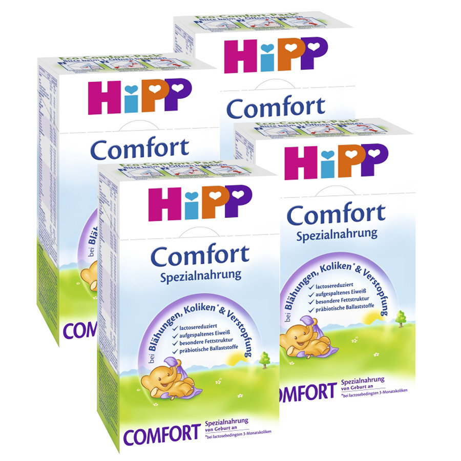 HiPP Comfort Special Formula for Flatulence and Congestion 4x500g