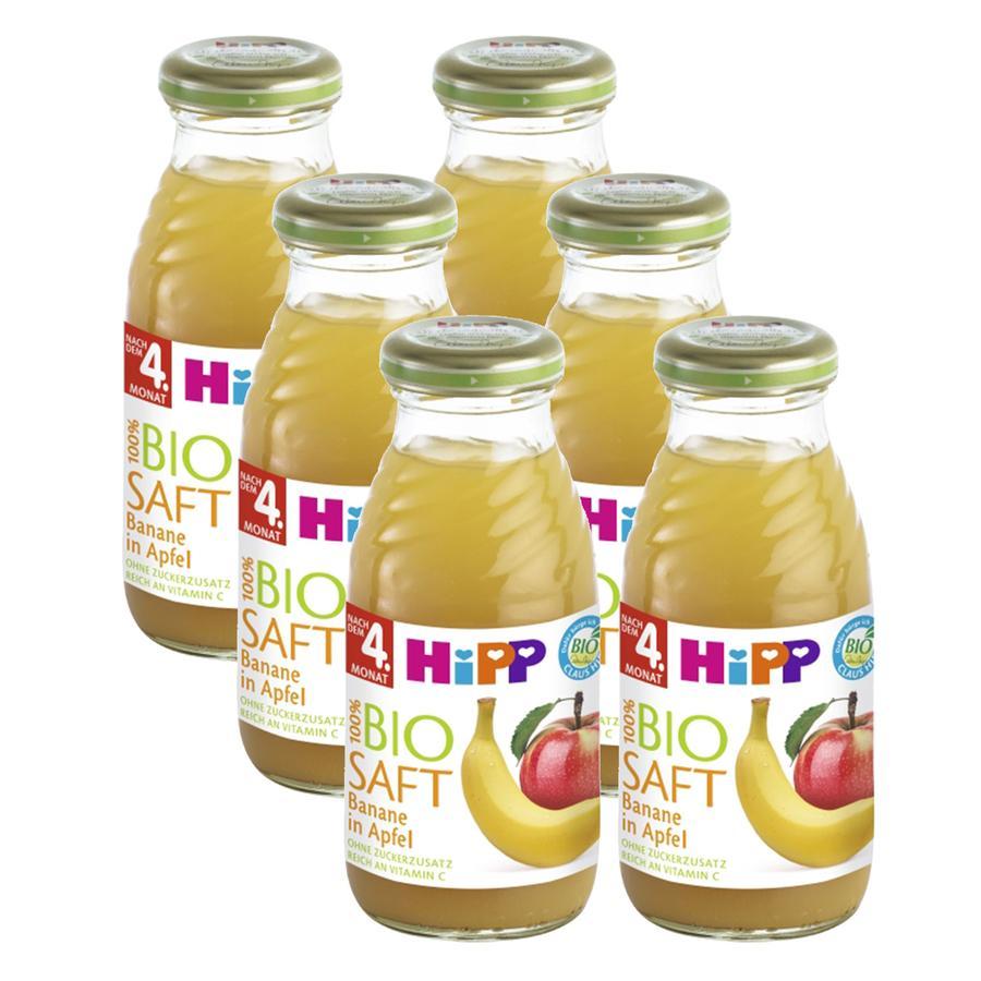 HiPP Banane in Apfelsaft 6 x 0,2 l