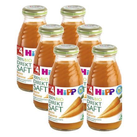 HiPP reine Karotte 6 x 0,2 l