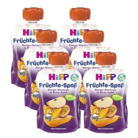 HiPP Früchte Spaß Mango-Maracuja in Birne-Apfel 6 x 90 g