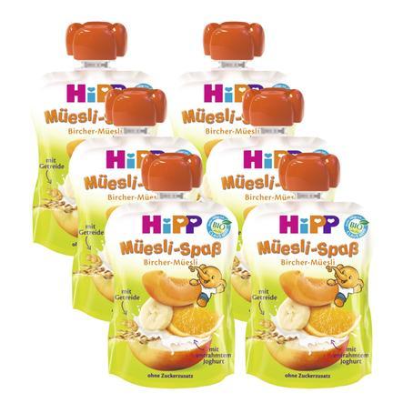 HiPP Müesli Spaß Bircher-Müsli 6 x 90 g
