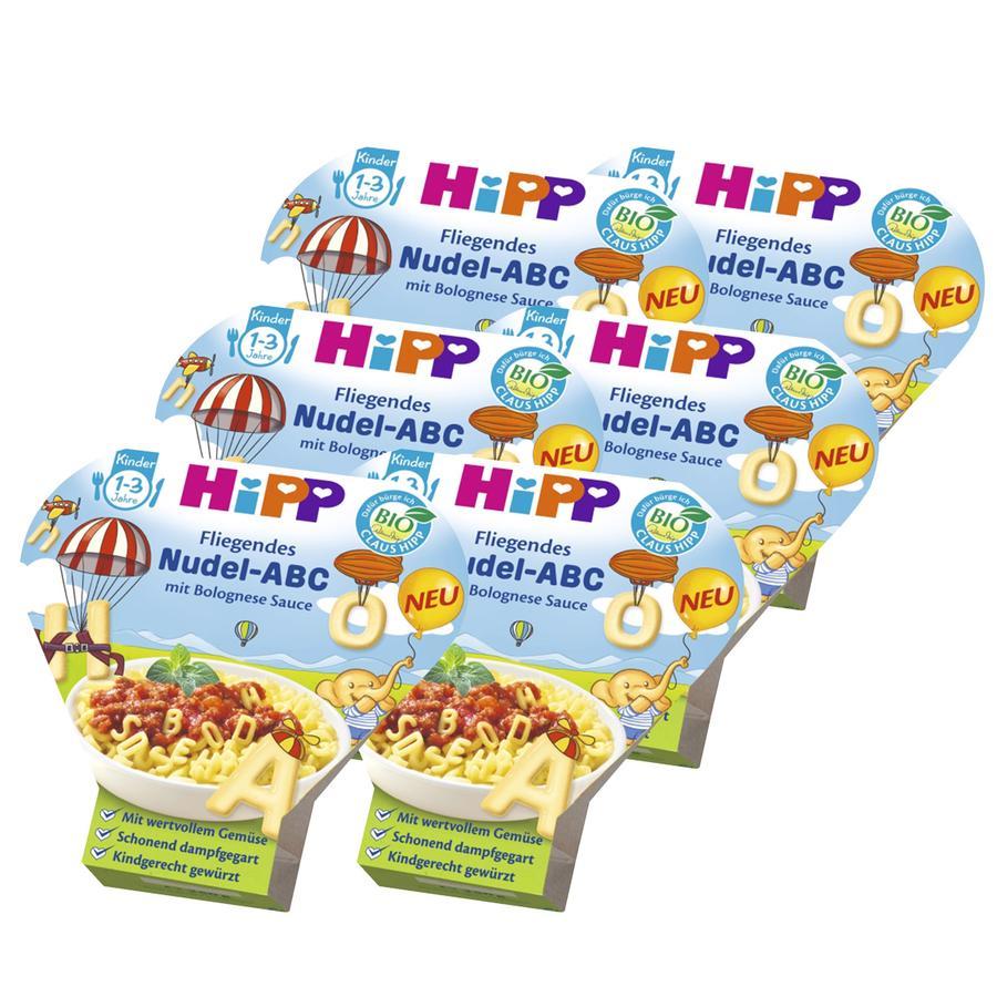HiPP Flying Alphabet Pasta ABC in Bolognese Sauce 6x250g