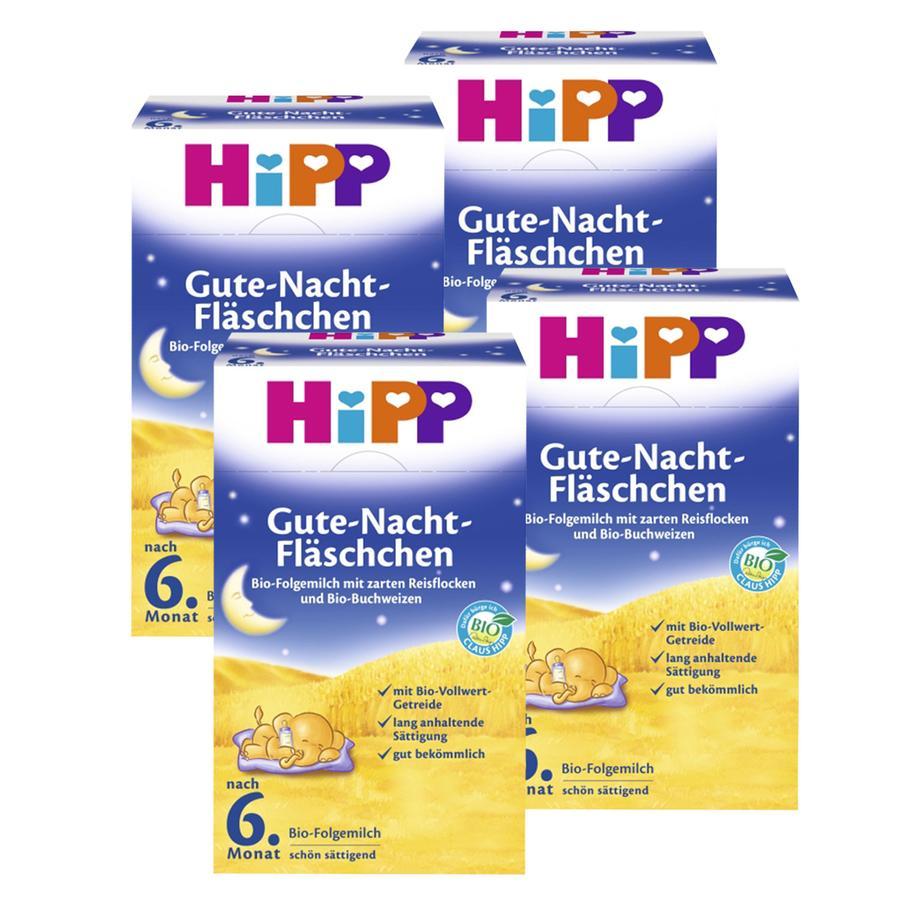 HiPP Bio-Folgemilch Gute Nacht ab dem 7. Monat 4 x 500 g