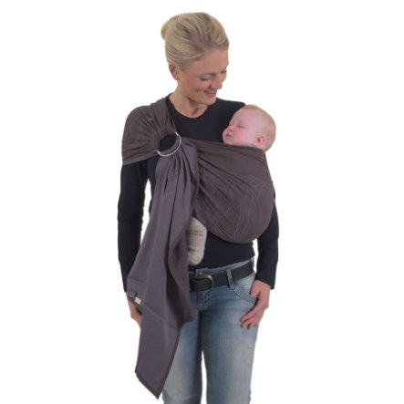 HOPPEDIZ Ring-Sling Jacquard New York Braun