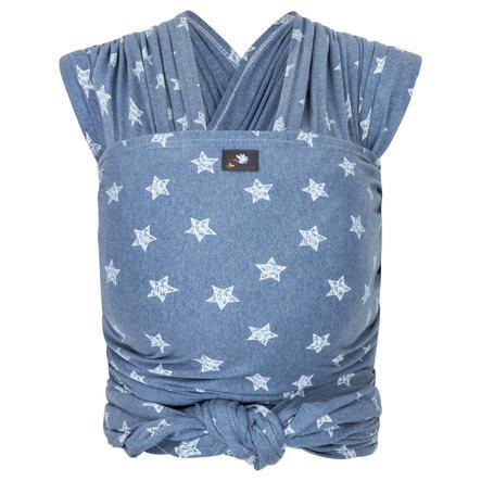 HOPPEDIZ Lång elastisk bärsjal, blue/melange
