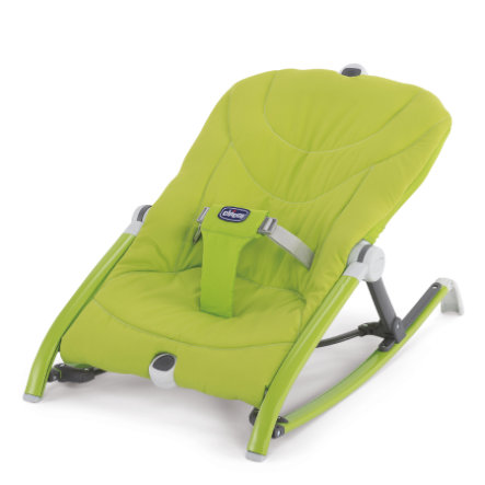 CHICCO Houpací lehátko Pocket Relax Green
