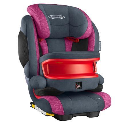 STORCHENMÜHLE Seggiolino auto Solar IS Seatfix rosy, colore rosa