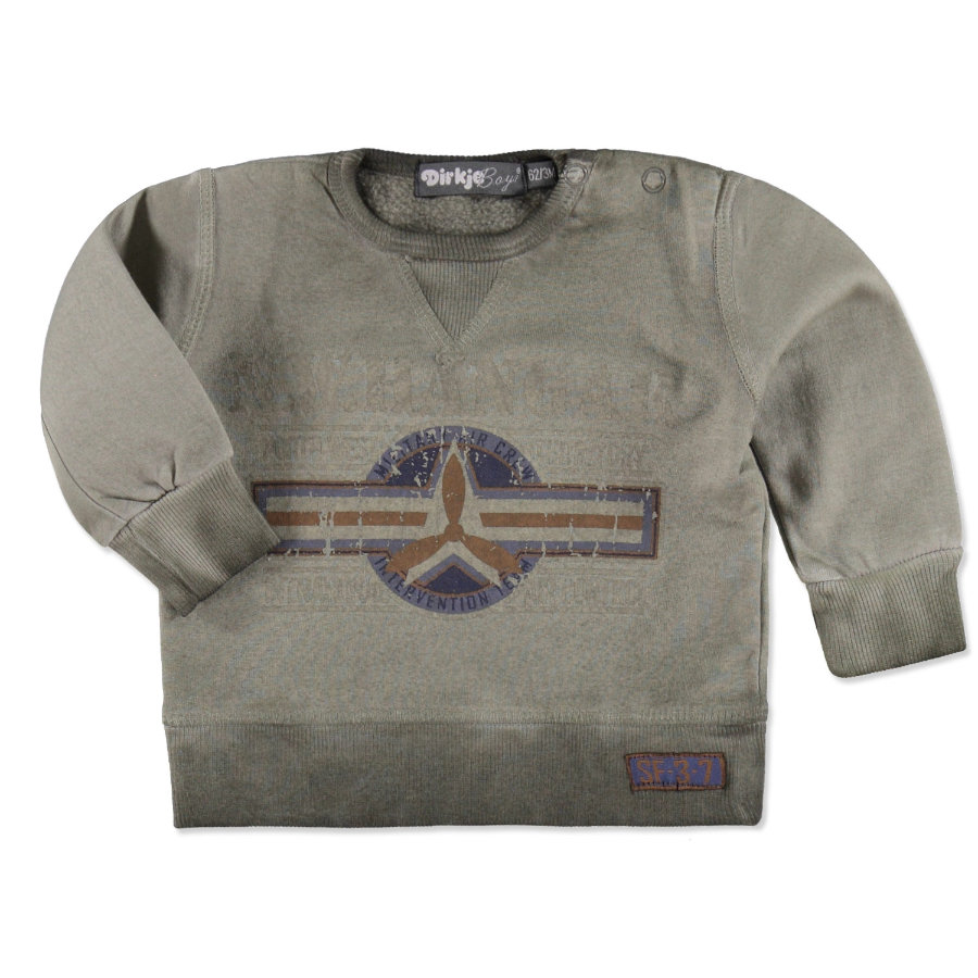 DIRKJE Boys Mini Sweatshirt army green