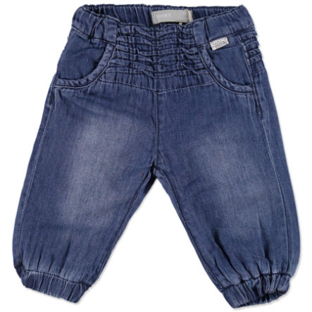 NAME IT Girls Baby Spodnie dżinsowe NITNELIA medium blue denim