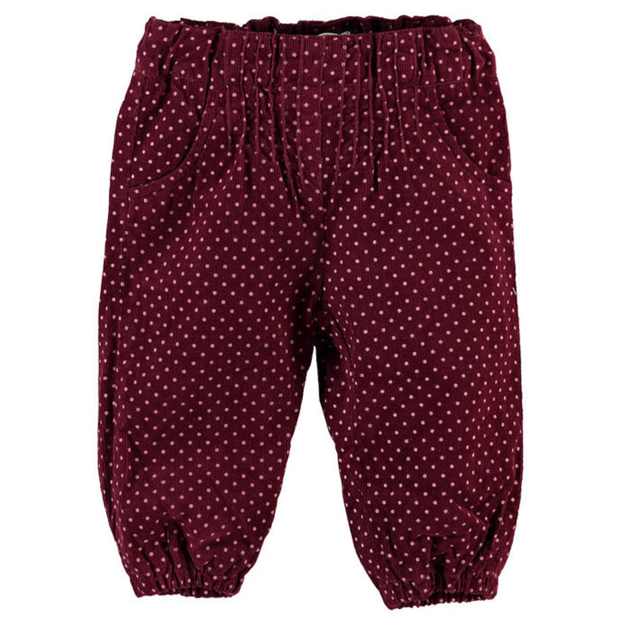 NAME IT Girls Baby Cordhose NITOTILIA zinfandel