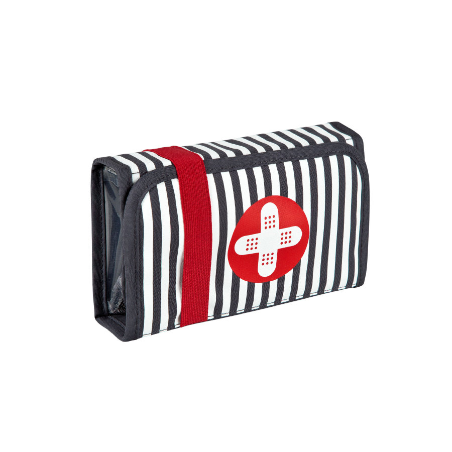 LÄSSIG First Aid Kit Bandage ebony schwarz / weiß