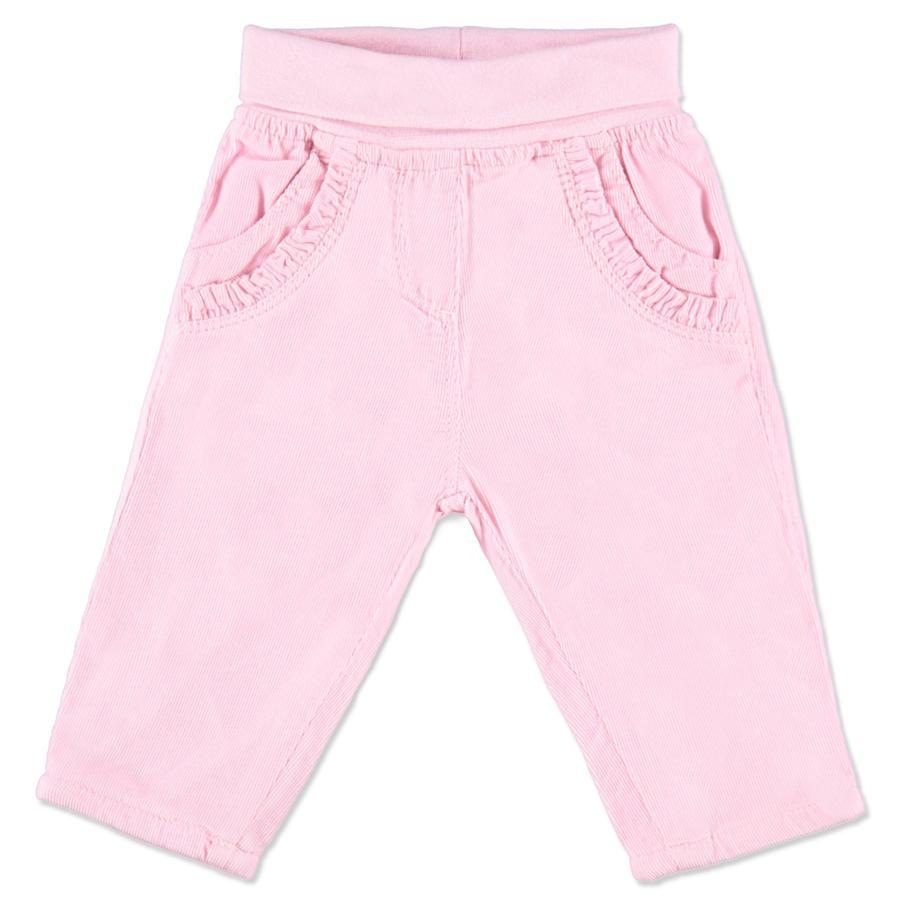 BLUE SEVEN  Girls dětské slipové kalhoty manšestrové růžové