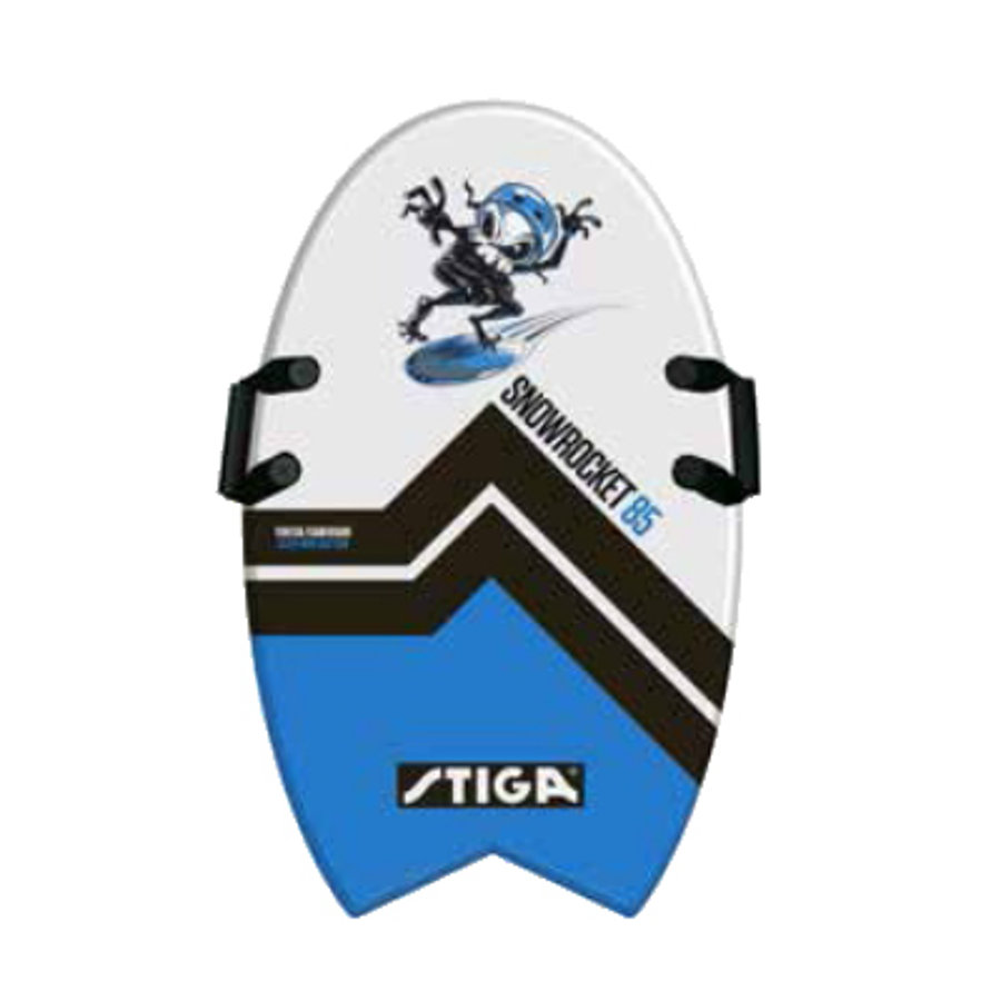 STIGA SPORTS Foamboard Snowrocket 85 Fishtail Blå