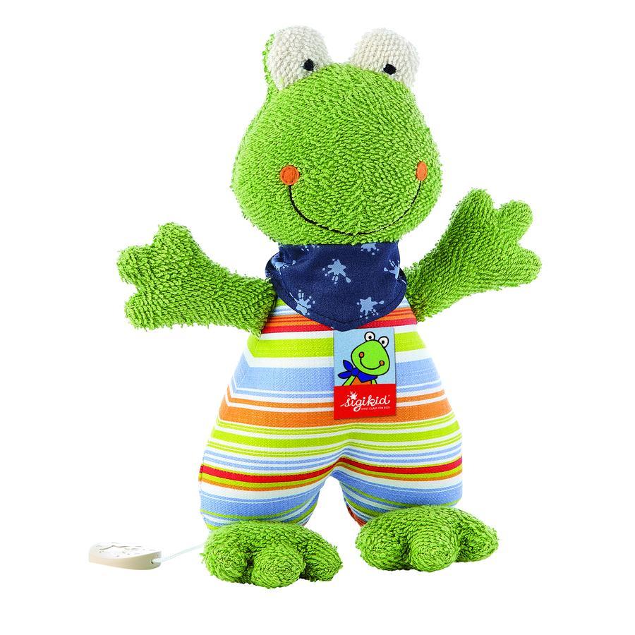 SIGIKID Muziekknuffel Fortis Frog, klein