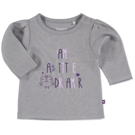Staccato Girls Baby Shirt gloomy-melange