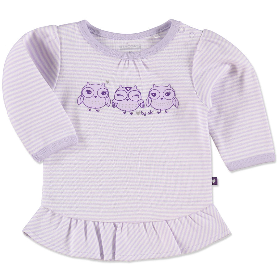 Staccato Girls Baby Tunika flieder stripe