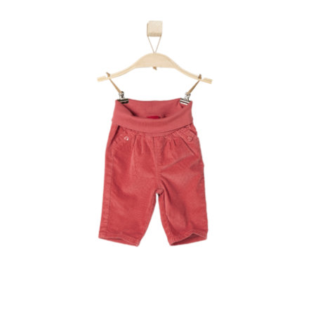 s.OLIVER Girl s Pantalones de pana de bebé rojo