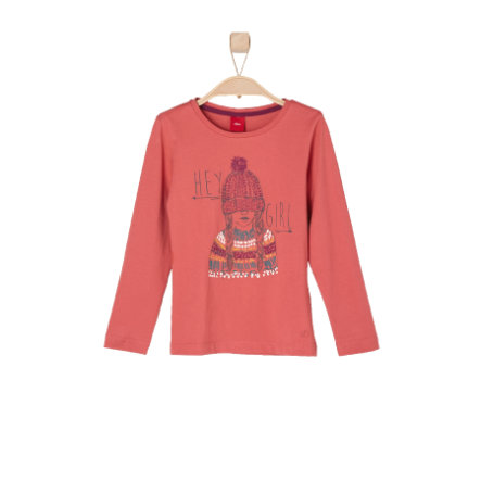 s.OLIVER Girls Mini Longsleeve rot