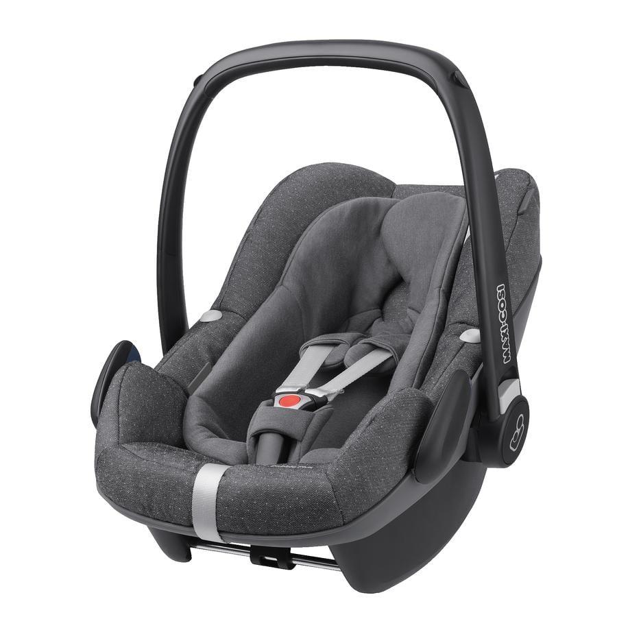 MAXI-COSI Babyschale Pebble Plus (I-size) Sparkling grey