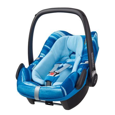 MAXI -Fotelik samochodowy dla dzieci Pebble Plus ( I-size ) Akwarela wodna blue