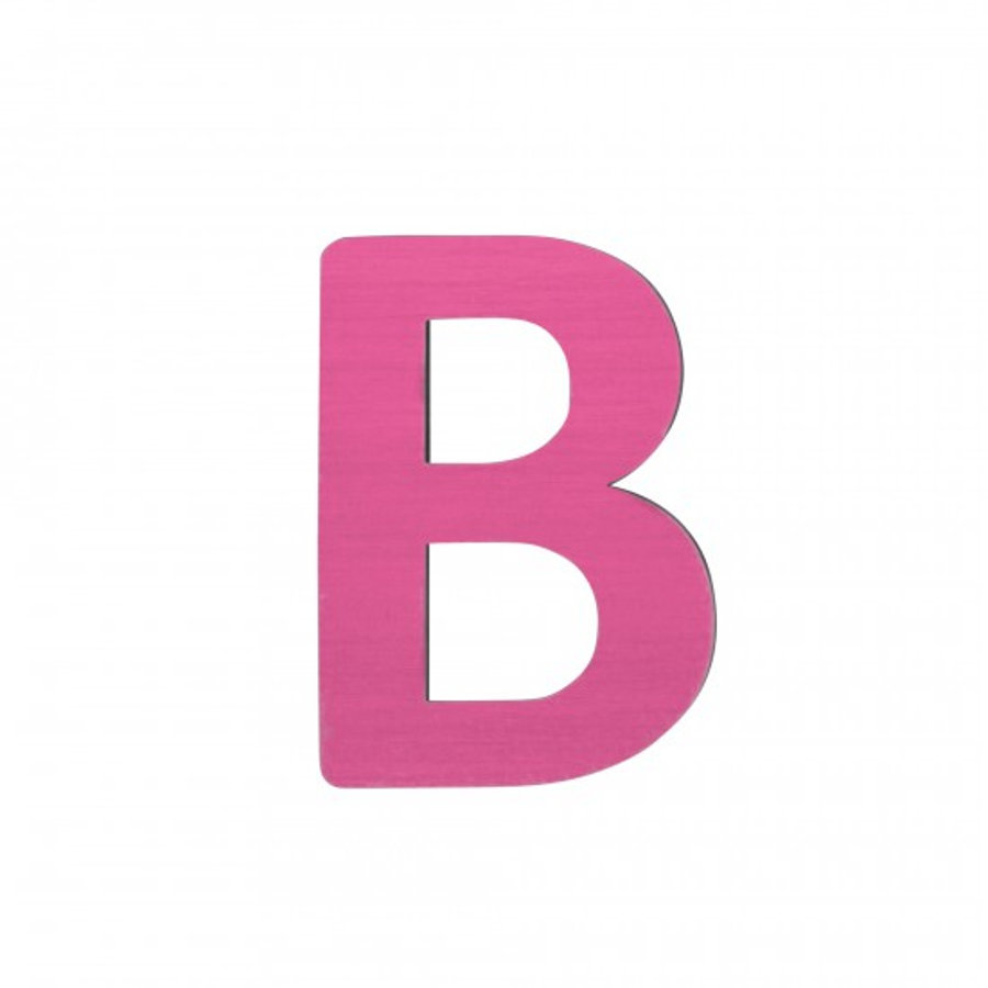 SEBRA Kirjain B, pinkki