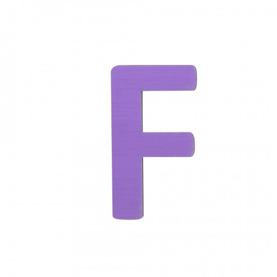 SEBRA F, letra púrpura