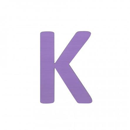 SEBRA Jouet Lettre K, violet