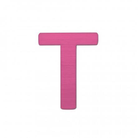 SEBRA T, pink Buchstabe