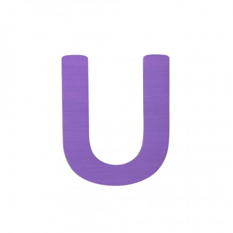 SEBRA Jouet Lettre U, violet