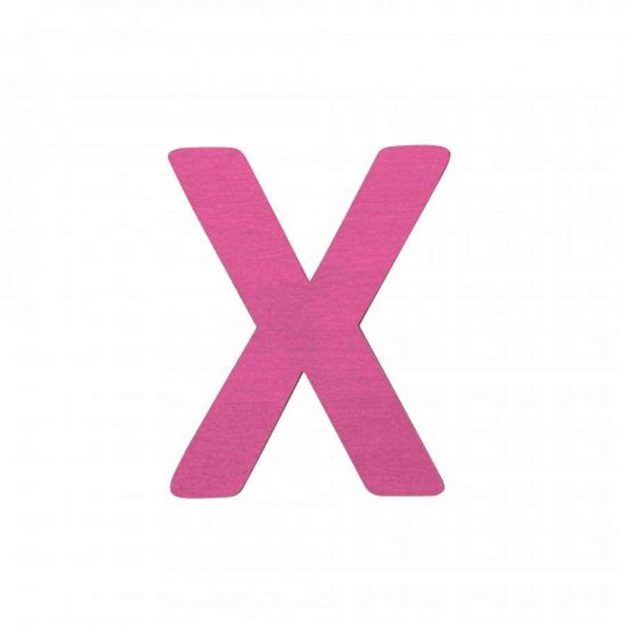 SEBRA Kirjain X, pinkki
