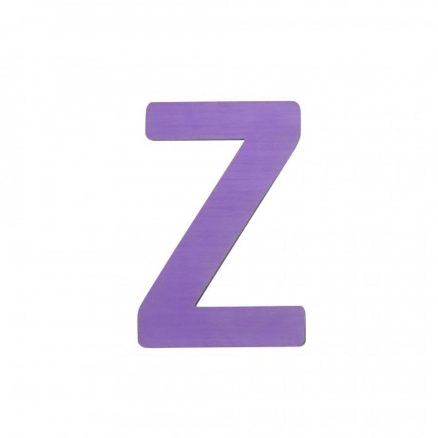 SEBRA Jouet Lettre Z, violet
